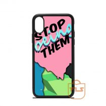 Stop Being Them iPhone Case