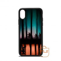 Stranger Things Silhouette iPhone Case