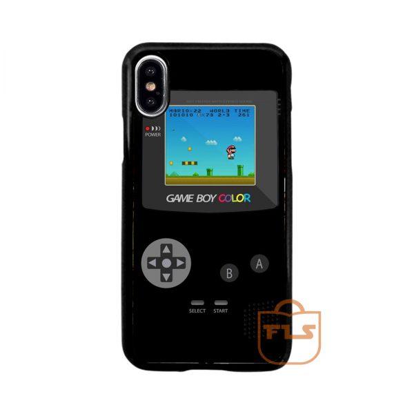 Super Mario Nintendo Gameboy Retro iPhone Case