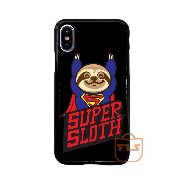 Super Sloth iPhone Case