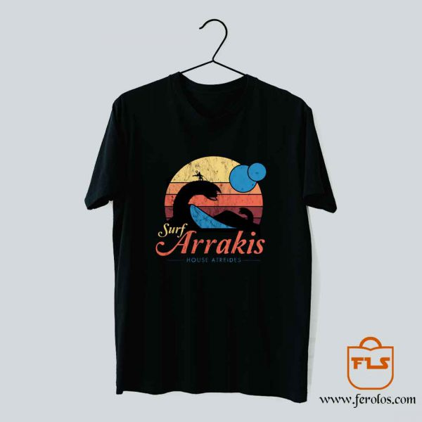Surf Arrakis House Atreides T Shirt