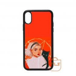 Teenager Orange iPhone Case