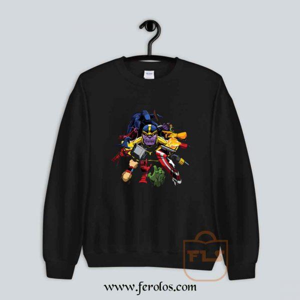 Thanos Drop of Bloody Sweatshirt