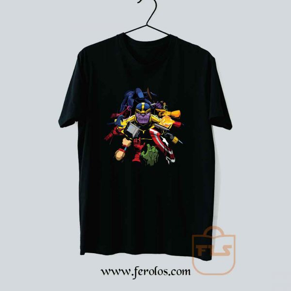 Thanos Drop of Bloody T Shirt