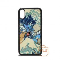 The Great Wave Off Gyarados Pokemon iPhone Case