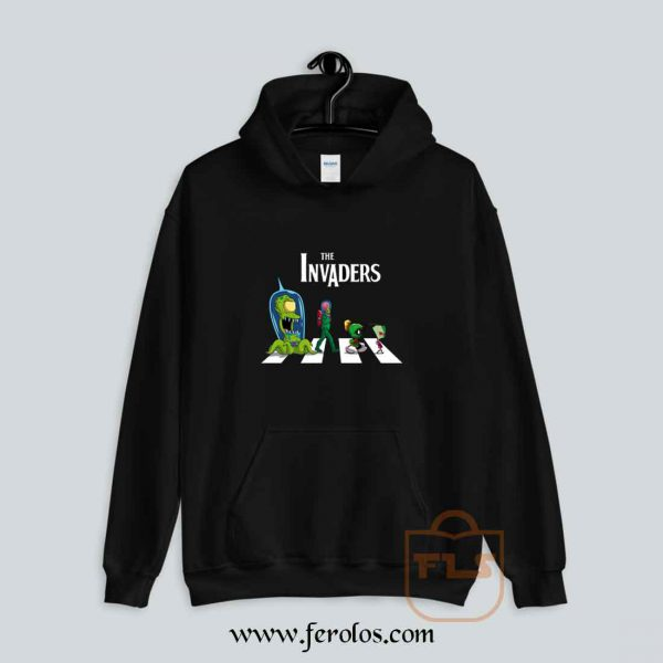 The Invaders Abbey Road Parody Hoodie