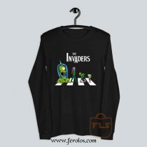 The Invaders Abbey Road Parody Long Sleeve