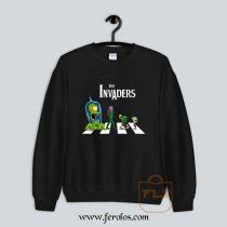 The Invaders Abbey Road Parody Sweatshirt