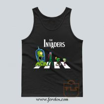 The Invaders Abbey Road Parody Tank Top