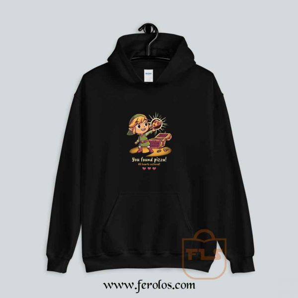 The Legendary Pizza Parody Hoodie