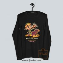 The Legendary Pizza Parody Long Sleeve