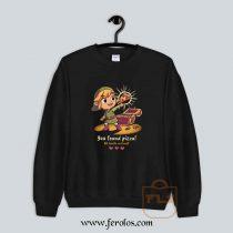 The Legendary Pizza Parody Sweatshirt