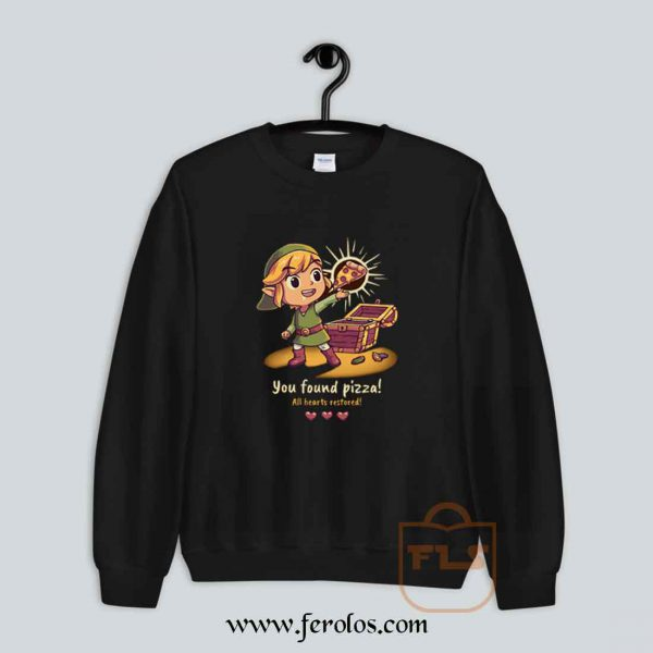 The Legendary Pizza Parody Sweatshirt