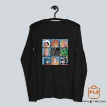 The Saturday Bunch 80s Cartoon Long Sleeve