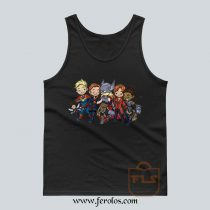 Thor Universe Female Characters Tank Top