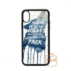 Throw Me To The wolves iPhone Case