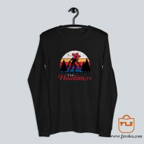 Visit Hawkins Demogorgon Stranger Things Long Sleeve