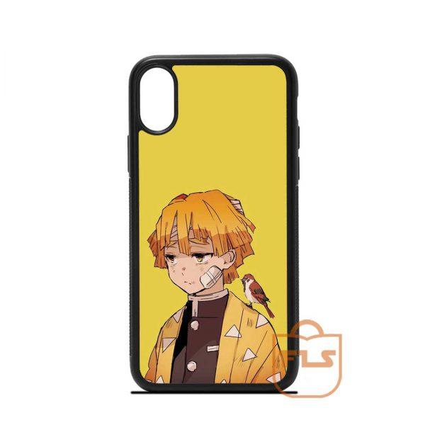 Zenitsu Agatsuma Demon Slayer iPhone Case