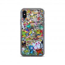 90s Sticker iPhone Case
