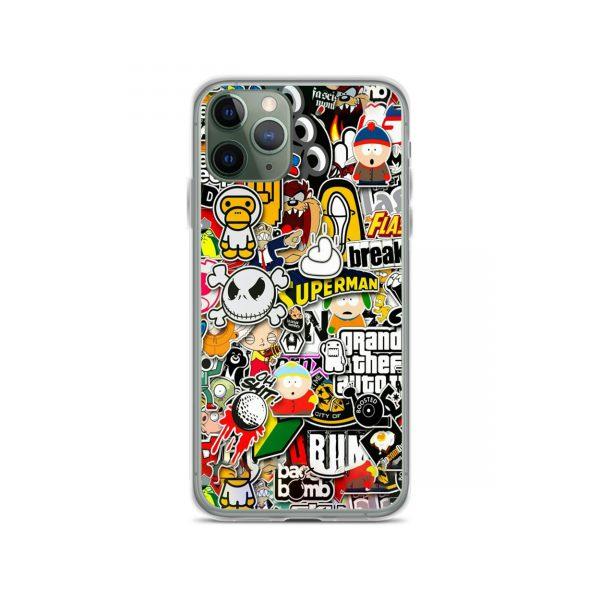 Amazing Sticker Collage iPhone 11 Case