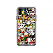 Amazing Sticker Collage iPhone Case