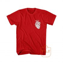 Anatomical Heart Cute Cheap Graphic Tees