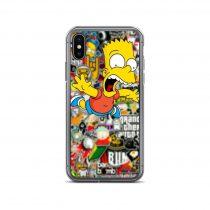 Bart Bomb Sticker iPhone Case