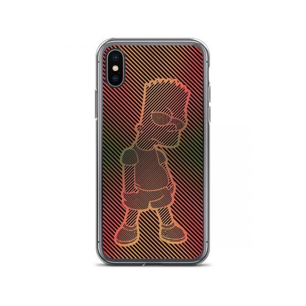 Bart Simpson Aesthetic iPhone Case