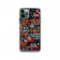 Bomb Sticker Game and Cartoon iPhone 11 Case