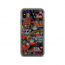 Bomb Sticker Game and Cartoon iPhone Case
