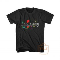 Creativity Is Intelligence Having Fun Graphic Tees