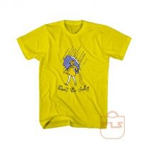 Don't Be Salty Rain Girl Cute Cheap Graphic Tees