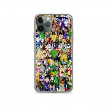 Dragon Ball Characters Collage iPhone 11 Case