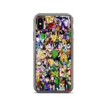 Dragon Ball Characters Collage iPhone Case