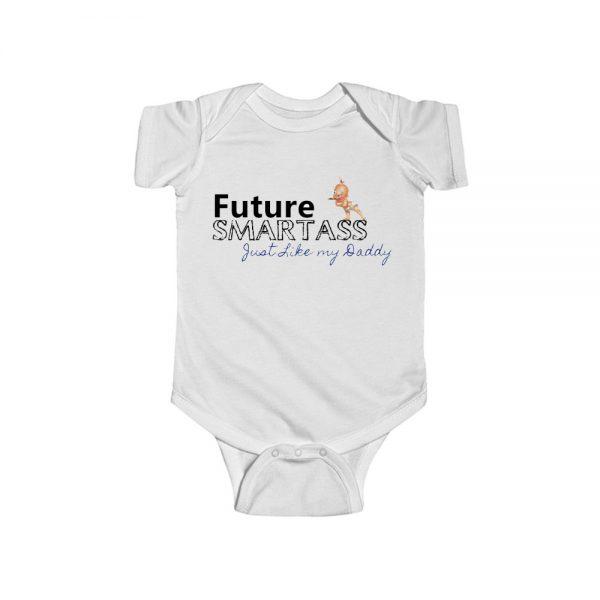Future Smartass Baby Onesie