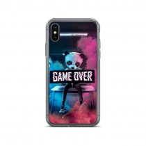 Game Over Panda iPhone Case