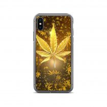 Gold Weed iPhone Case