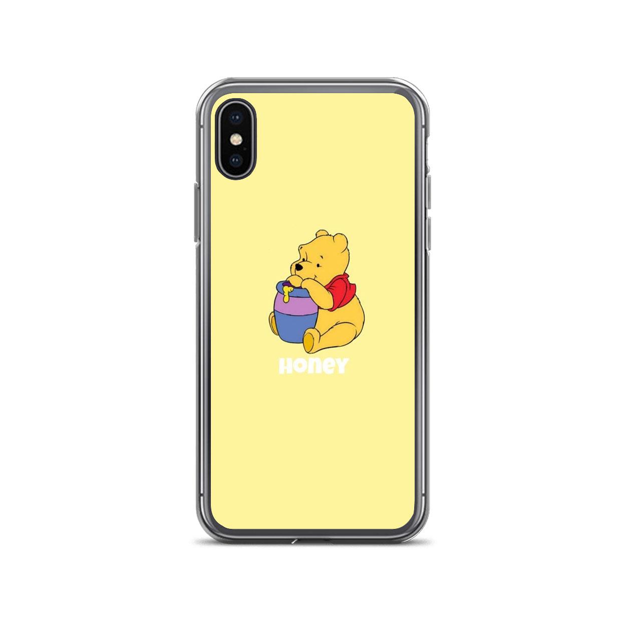 Honey Aesthetic Winnie The Pooh iPhone Case