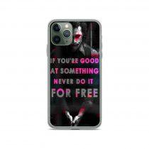 Joker Best Quote iPhone 11 Case