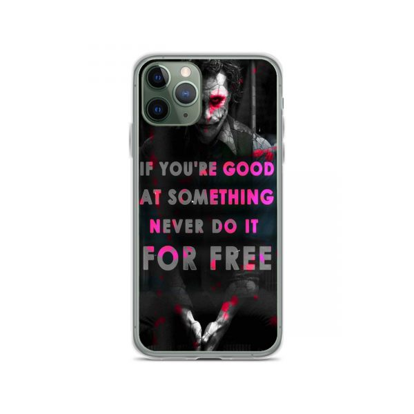 Joker Best Quote iPhone 11 Case