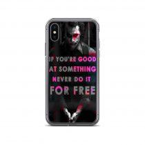 Joker Best Quote iPhone Case