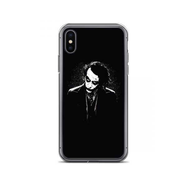 Joker Black White Art iPhone Case