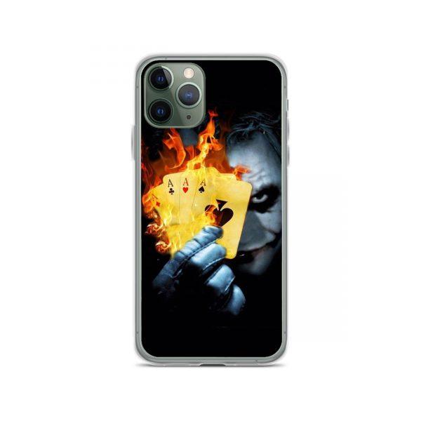 Joker Burn Four AS Card iPhone 11 Case