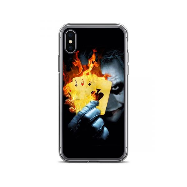 Joker Burn Four AS Card iPhone Case