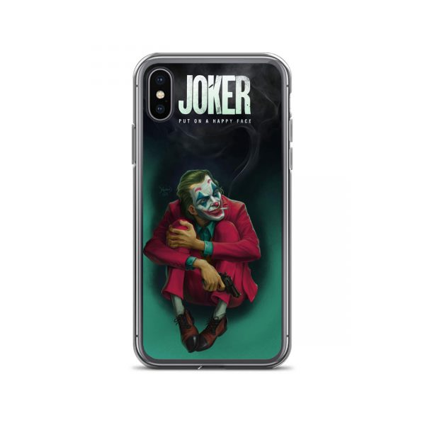 Joker Put On A Happy Face iPhone Case