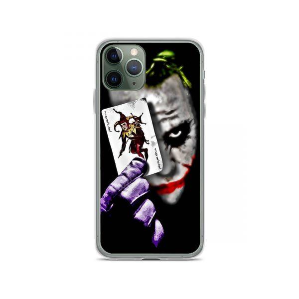 Joker Showing Card iPhone 11 Case