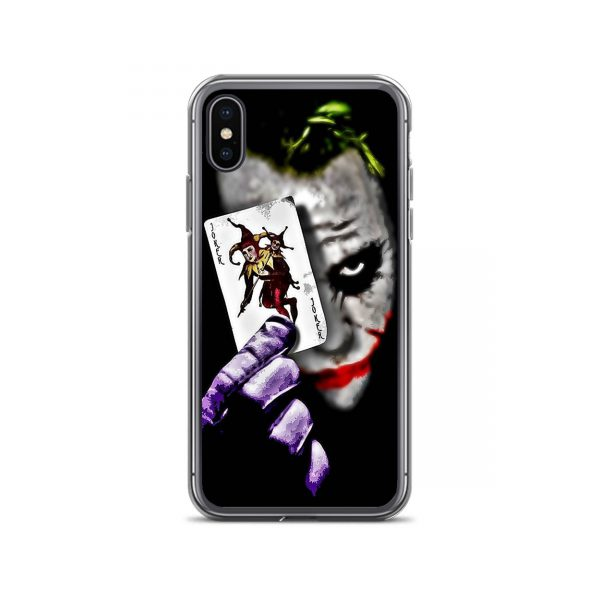 Joker Showing Card iPhone Case