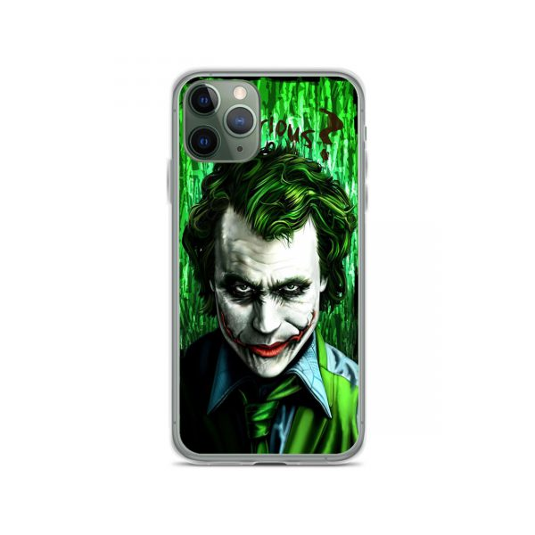 Joker Why So Serious Green iPhone 11 Case