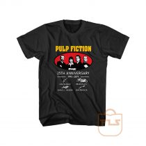 Pulp Fiction 25th Anniversary 1994 2019 Signature Graphic Tees