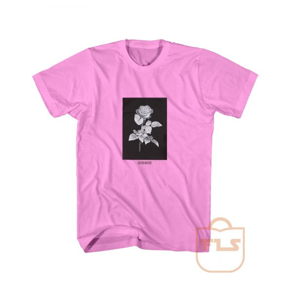 Rose Amour Vintage Cheap Graphic Tees